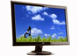 Hasil gambar untuk gambar perangkat keras monitor